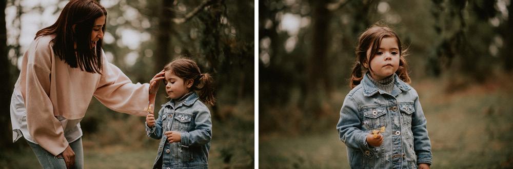 Fotografosbodabodasgaliciaretratosesiónfotograficacostaembarazadaafiestraa fiestrafotografiacreativaraqueldavid5 - Sesión familiar en un bosque de Galicia - Petite Olivia & Louis