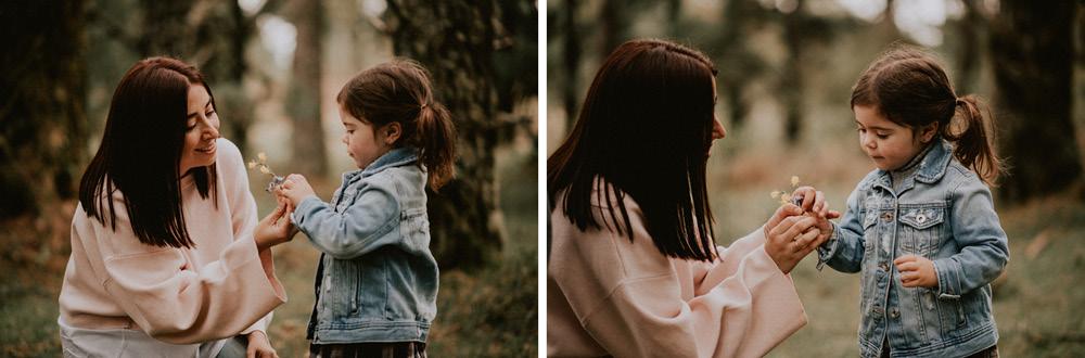 Fotografosbodabodasgaliciaretratosesiónfotograficacostaembarazadaafiestraa fiestrafotografiacreativaraqueldavid9 - Sesión familiar en un bosque de Galicia - Petite Olivia & Louis