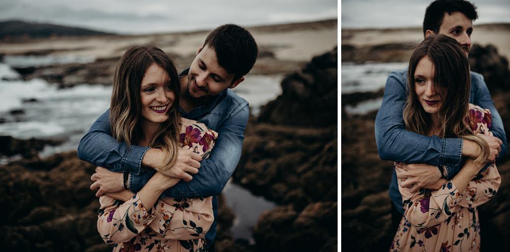 playa galicia sesion pareja preboda postboda afiestra afiestrafotografia 18 - Sesión de pareja en Galicia - Lidia  & Alex